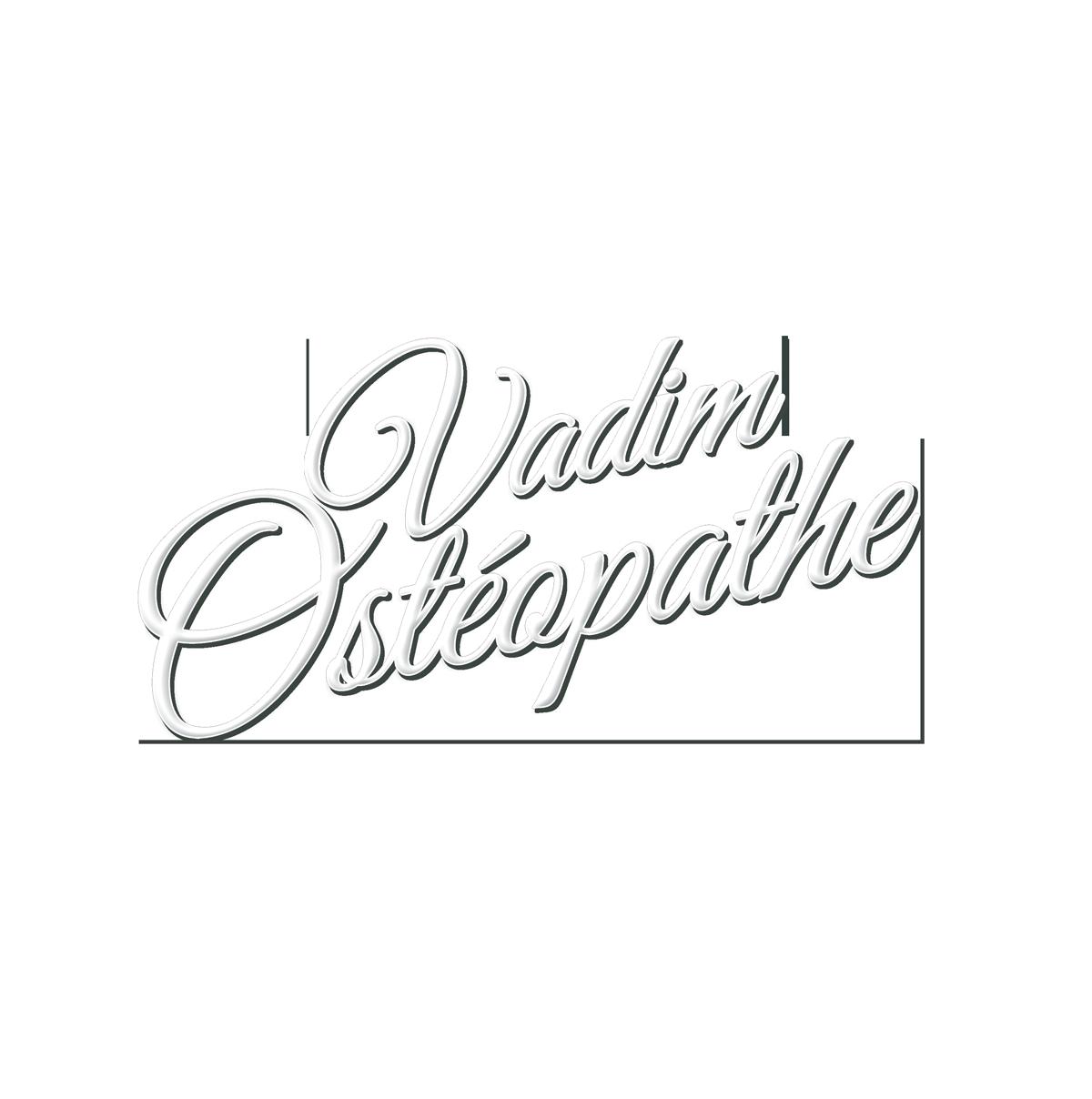 Vadim Ostéopathe à domicile et entreprise Logo